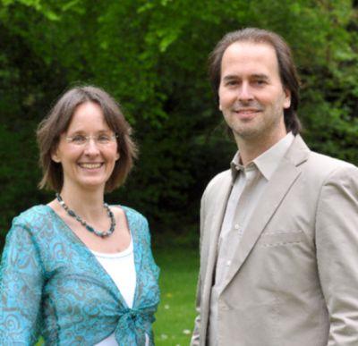 Ina Gutsch und Stefan Bratzel, Vorsitzende des DBFG e.V.