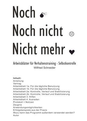 """""""Noch-Noch nicht-Nicht mehr"""" von Wilfried Schneider"""