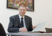 Der rührige Pressesprecher des Klinikums Ingolstadt, Joschi Haunsperger, ist stolz auf seine Arbeit und seinen Arbeitgeber
