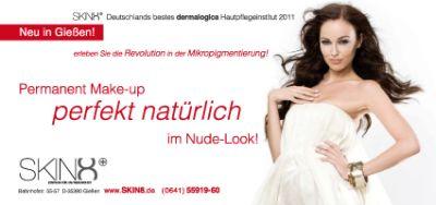 LCN Permanent Make-up Behandlung im Kosmetikinstitut SKIN8 in Gießen