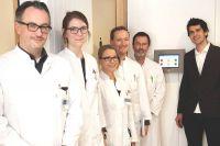 Tablet Umfrage von Demoskopia in Klinik für Psychiatrie MRI