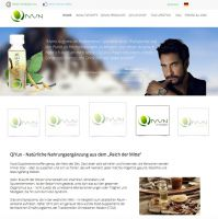 Die Homepage von QiYun bietet neben Produktinformationen umfassendes Wissen über die Einsatzmöglichkeiten der TCM .