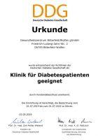 Qualitätstitel für Diabetespatienten
