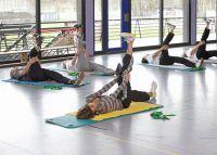 Kräftigungsprogramme für die Bauch- und Rückenmuskulatur. Foto: Württembergische Krankenversicherung AG