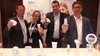 Das Team von Silk'n bei der Beauty- und Fashionlounge in Berlin.
