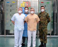 Soldaten auf Pflegemission