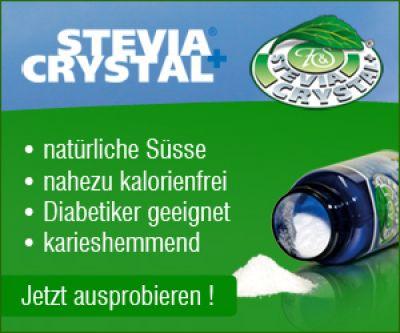 Natürlich Süßen mit Stevia-Crystal