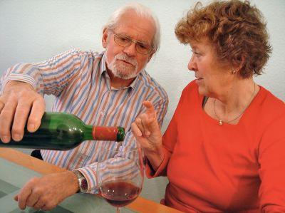 Alkoholsucht im Alter