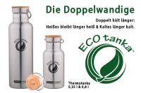 Thermotanka - Doppelwandige Isolierflasche