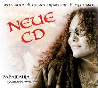 Stimmschamanin papajeahja Sandy Kühn CD Cover Samjan - timeless alive