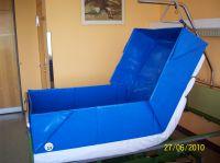 """Die """"faltbare"""" Bettbadewanne - eine deutsche Erfindung. Sanosphera"""
