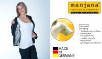 Manjana® functional bodywear, Unterwäsche mit integriertem Achselnässe Schutz