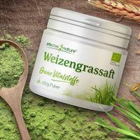 Weizengrassaft - für den glutenfreien, grünen Smoothie