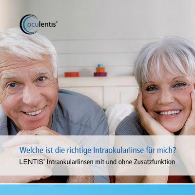 Welche ist die richtige Intraokularlinse für mich? Informationsbroschüre der Oculentis GmbH