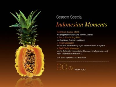 Herbst Special Indonesian Moments