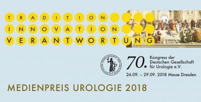 Medienpreis 2018 der Deutschen Gesellschaft für Urologie e.V. (DGU)