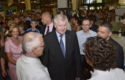Der Bayerische Ministerpräsident Horst Seehofer beim Tag der offenen Tür des Klinikums Ingolstadt Foto: Klinikum Ingolstadt