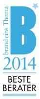 Siegel Beste Berater 2014
