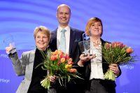 """ZEQ gratuliert Andrea Albrecht zur Auszeichnung """"Pflegemanager des Jahres"""""""