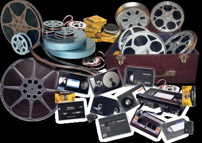 Schmalfilme wie z.B. Super8 oder Normal8 und Video's wie VHS oder Hi8 transferiert die HeloFilm in höchster Qualität preisgünstig