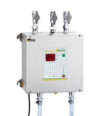 Aquamix 32 Wassermischgerät und Wasserdosiergerät zur Mischung und Dosierung von Eis-, Stadt- und Warmwasser von +0,5°C bis +80°