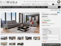 Screenshot der Belmoba Sofagarnitur Arona