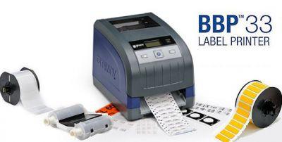 Brady BBP33 – Ein Etikettendrucker, der nicht nur Etiketten druckt