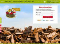 Brennholz & Kaminholz günstig im Online-Shop von brennholz.eu kaufen