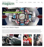 Online-Ausgabe des Classic-Cars-Lifestyle-Magazins