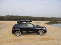 Dachbox Beluga auf Mercedes ML