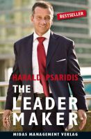 "Cover ""THE LEADER MAKER"""