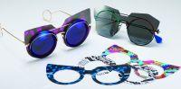 Das Brillenmodell Note von Lai Pui Yan war einer der Gewinner der Hong Kong Eyewear Design Competition.