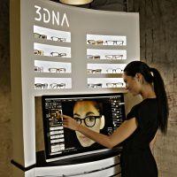 Das Hongkonger Unternehmen 3DNA Technology Co. Ltd. macht den Brillenkauf zu einem neuen und interaktiven Erlebnis. Foto: Firma