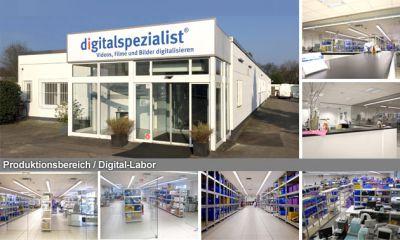 Neuer Firmensitz - digitalspezialist - Videos, Filme und Bilder digitalisieren
