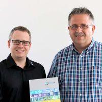 Sprintis Geschäftsführer Christian Schenk und Thomas Seifert