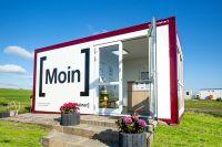 ELA Funktionsraum auf Campingplatz: Freundlicher Empfang für Gäste an der Nordseeküste
