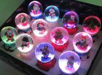 Die Schneekugeln mit LED Beleuchtung von Sun Fai (Law's) Industrial Company Limited. Foto: Firma.
