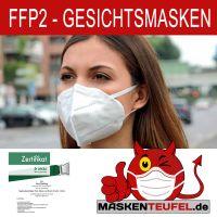 FFP2 Masken inkl. Zertifikat, EN Nummer und CE Kennzeichnung