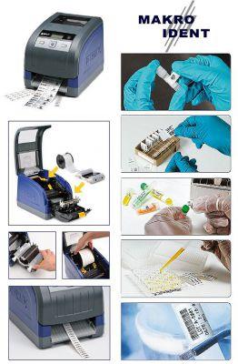 Für den Laboreinsatz: Labor-Etikettendrucker BBP33