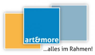 Logo der Art & More Bilder und Leisten GmbH