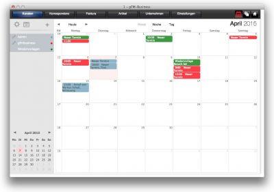 gFM-Business Professional mit integriertem Gruppenkalender