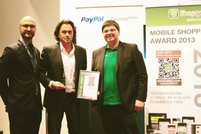 Mobile Shopping Award-Verleihung