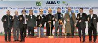 Die Grundsteinlegung für die hochmoderne WEEETRF-Anlage in Hongkong. Foto: ALBA Group