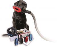 Die Cofix® Hundebürste ist Ihr Schlüssel zu gründlicher Fellpflege . Bürste auf Ihren Staubsauger stecken, Hund absaugen. Fertig!