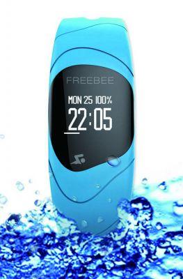 """Das wasserfeste """"Freebee Reflex""""-Armband von Freebee Limited. Foto: Firma"""