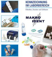 Laboretiketten für Fläschchen und Röhrchen