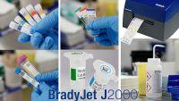 Laborproben farblich kennzeichnen mit BradyJet J2000