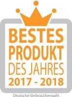 Logo Bestes Produkt des Jahres 2017-2018 Verbraucherwahl