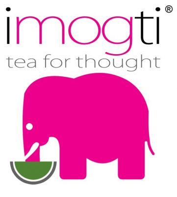 imogti - der Matcha Tee mit dem pinken Elefanten