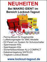 Neuheiten im Bereich Lockout-Tagout bei MAKRO IDENT